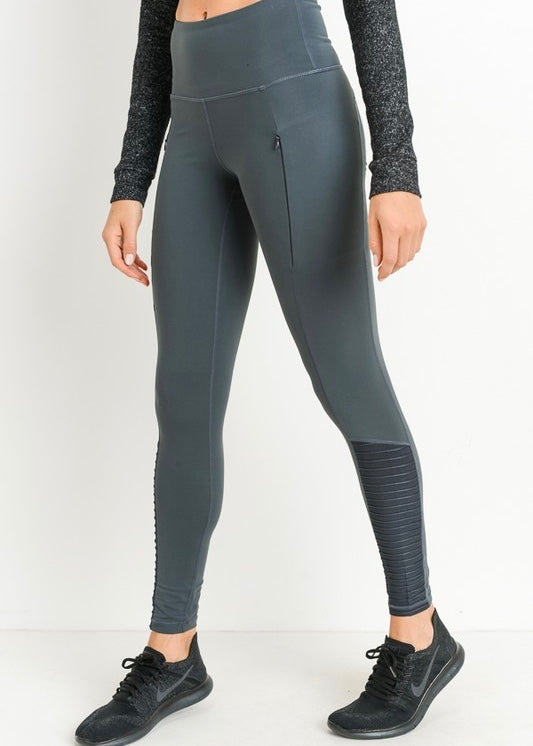 STELLA'S ZIPPER POCKET LEGGINGS