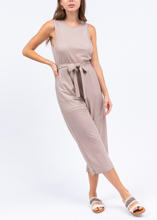 EVE CROPPED JUMPSUIT
