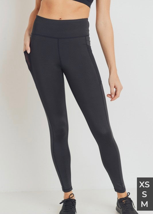 NICOLE MESH POCKET LEGGINGS