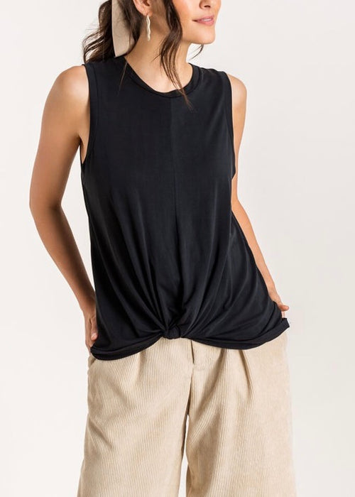 FRONT KNOTTED TANK TOP