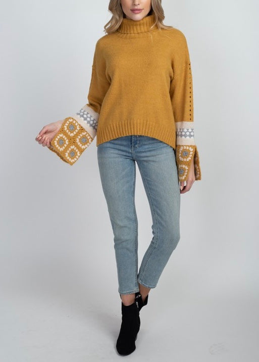 NICOLE TURTLE NECK SWEATER