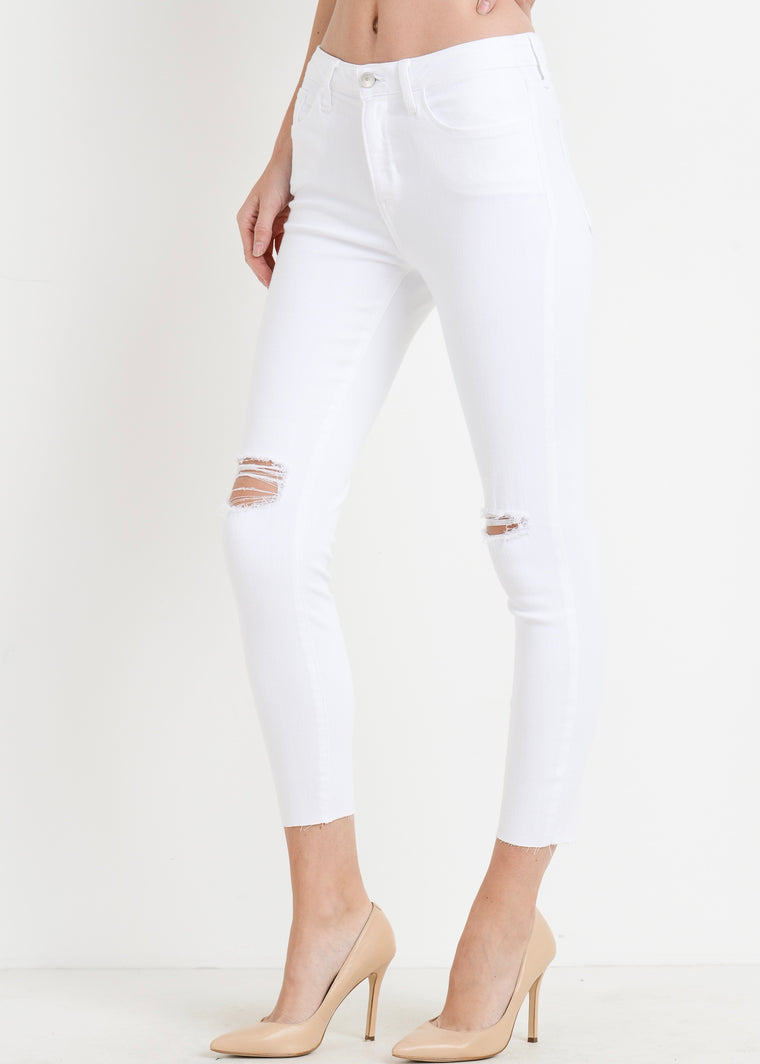 LITTLE WHITE JEAN