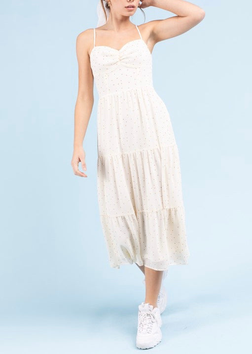 MEGAN SLEEVELESS MAXI DRESS