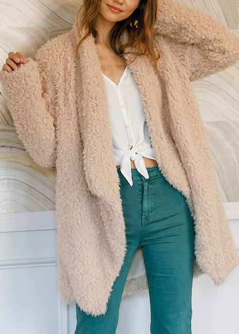 ELIZA LONG FUR COAT