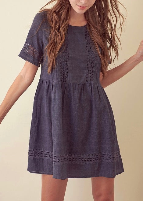 NATALIE MINI TUNIC DRESS