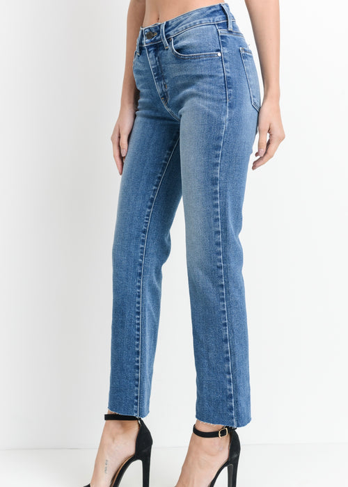 KELLY CROPPED FLARE JEAN