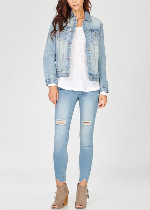 EVERYDAY DENIM JEAN JACKET