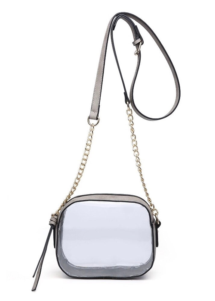 GAME DAY CLEAR BOX CROSSBODY