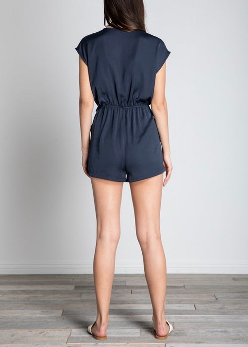 ROMPER WITH TIE