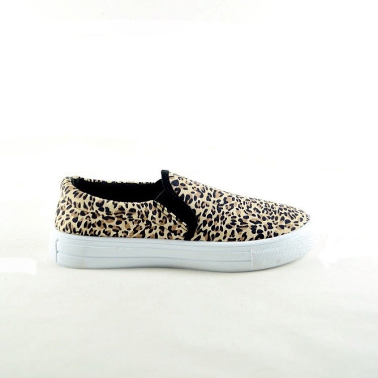 SAMMI LEOPARD SLIP-ON SHOE