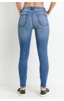 LYLA SPLIT KNEE DENIM