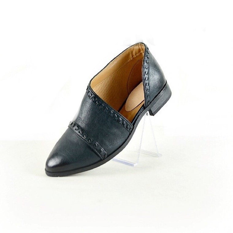 BAILEY BLACK TUXEDO FLAT SHOES