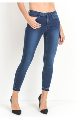 LEENA NO HEM EXTRA STRETCH DENIM