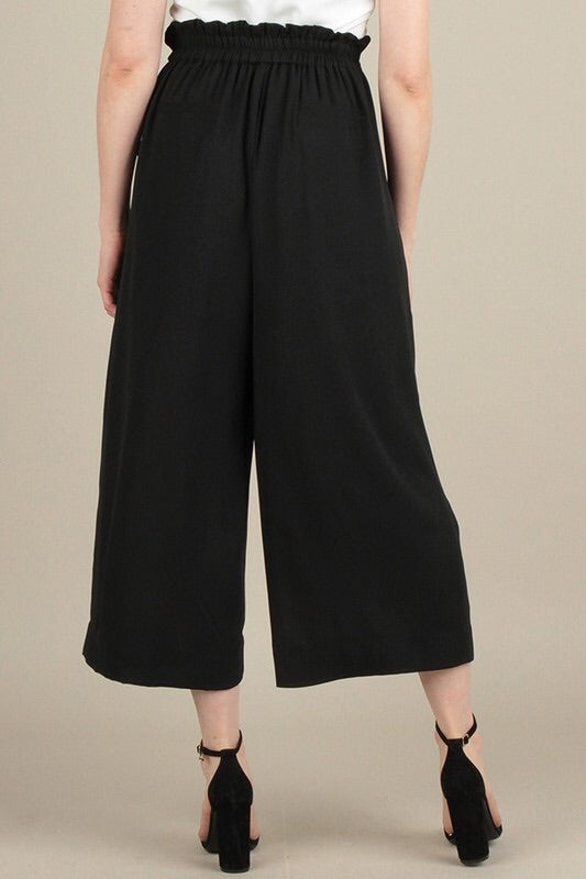 MIRANDA CULOTTES PANTS WITH TIE WAIST