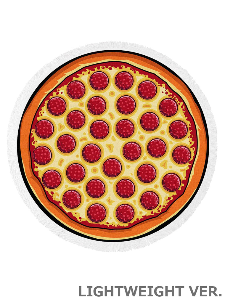 PIZZA ROUND BEACH TOWEL
