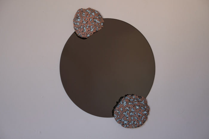 Tephra Wall Mirror