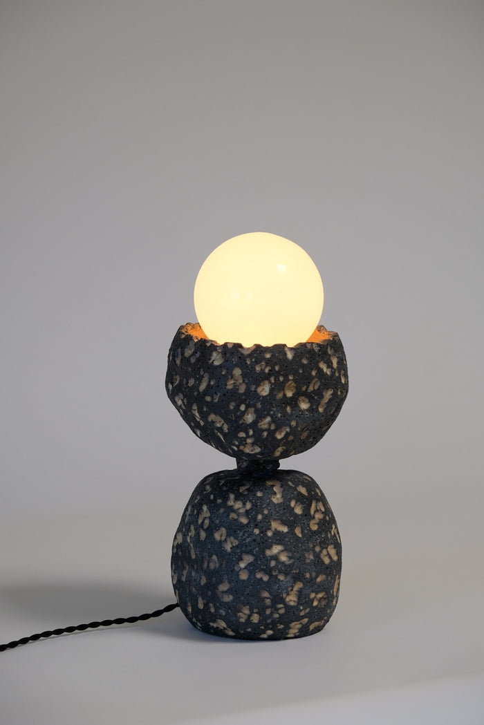Lithic Lamp Two Tier
