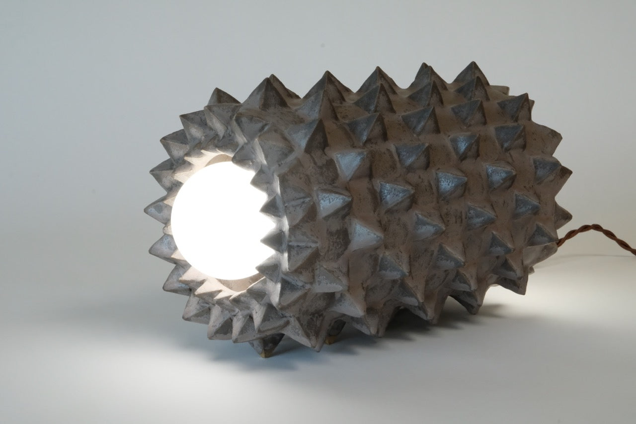 Studded Barrel Lamp