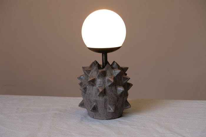 Studded Grenade Desk Lamp