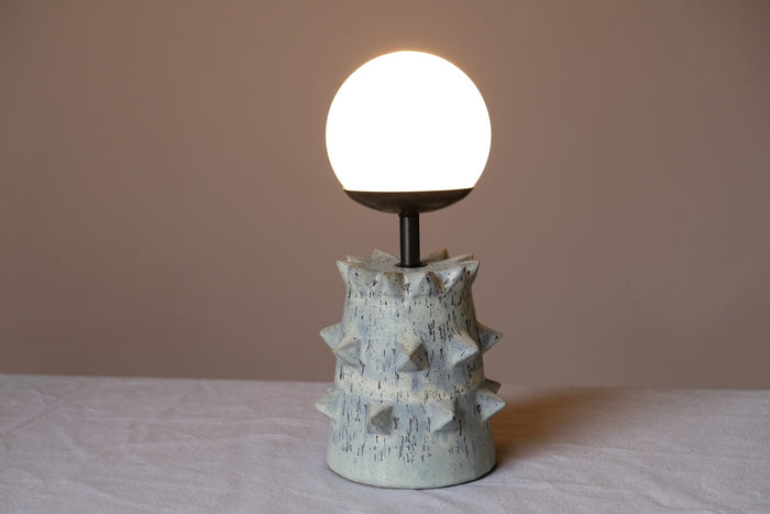 WS Studded Tower Desk Lamp
