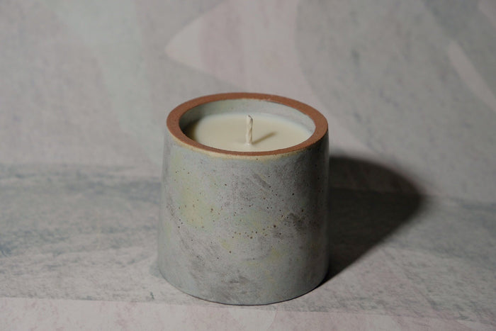 Two-tone Candle | LGS Studio | Little Garage Shop