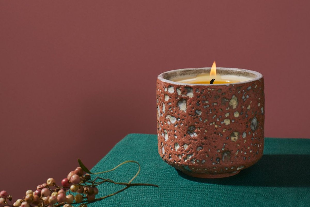 Tephra Candle | LGS Studio | Little Garage Shop