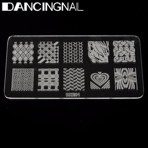 Acrylic Nail Art Image Stamp Printing Stamping Plate Template DIY Tool