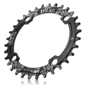 SNAIL Single-tooth Positive and Negative Plate Bicycle Crank Sprocket 32T Circular Dsc