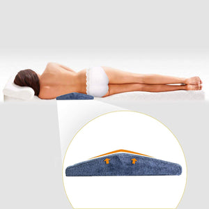 Lumbar Support Wedge Memory Pillow Bed Sleeping Cushion