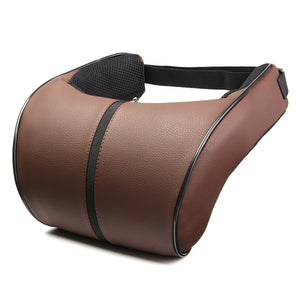 Neck Rest Headrest Support Cushion PU