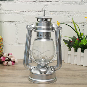IPRee® Retro Oil Lantern Outdoor Garden Camp Kerosene Paraffin Portable Hanging Lamp
