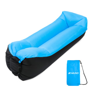 Xmund XD-IF1 210T Inflatable Sofa Camping Travel Air Lazy Sofa Sleeping Sand Beach Lay Bag Couch