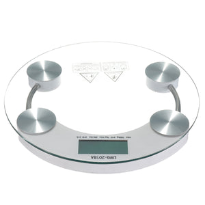 Digital Body Scale 180KG LCD Glass Weight Electronic Scales