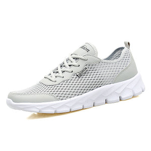 Men Mesh Breathable Running Shoes Sneakers Quick Drying Ultralight Sneakers Sports Shoes