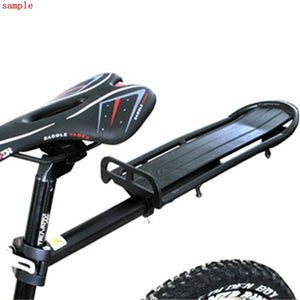 Black Extendable Bicycle Seat Post Beam Rear Rack