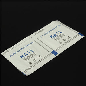 100 Pcs Environmental Nail Art UV Gel Polish Remover Cleaner Wraps Pads