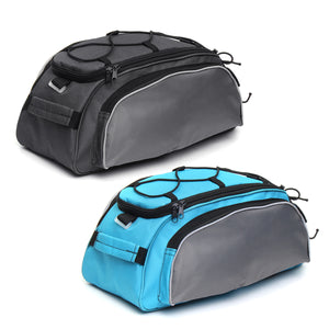 BIKIGHT 13L Bike Luggage Bag Multi-purpose Durable Shoulder Handbag Cycling Pannier Rear Rack Bag