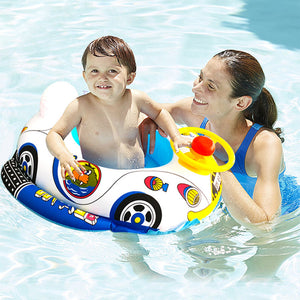 Environmentally Pvc Thickened Inflatable Swimming Ring