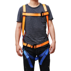 Durable Rock Climbing Harness Seat Belt Full Body Safety