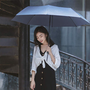 90Fun Umbrella 2-3 People Portable UPF40+ Waterproof Three Folding Umbrella Sunshade from Xiaomi Youpin