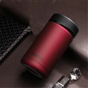 400ml Stainless Steel Vacuum Flask Water Bottle Thermos Coffee Travel Mug Cup