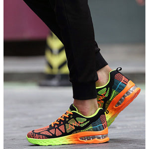 Unisex Sneakers Casual Sports Athletic Running Shoes Lovers Air Cushion Shoes
