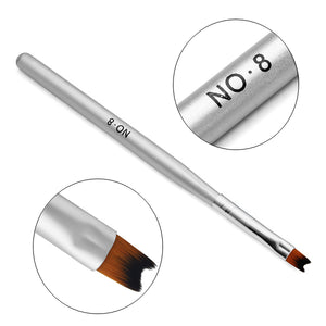 Nail Painting Drawing French Manicure Phototherapy Pen Brush