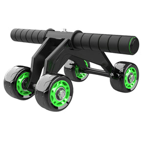 KALOAD 4 Wheel ABS Roller Wheel Sports Fitness Gym Exercise Stretch Wasit Abdominal Wheel Rooler