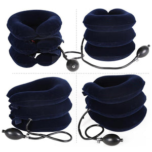 Air Inflatable Pillow Cervical Spondylosis Pain Relief Traction Support Device