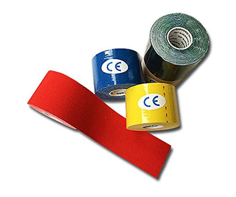 Kinesiologie Tape 5cm - 5er Set Bunter Mix