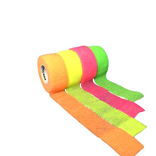 LisaCare Pflasterverband - Fixierbinde 2,5-10cm - 4er Set Neonmix-HEALTH_PERSONAL_CARE-EKNA GmbH & Co. KG