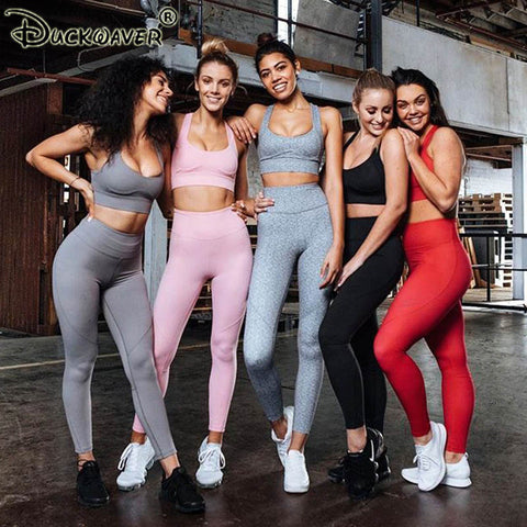 5cf9c3c7c6 Workout Clothes For Gym Clothing 2 Piece Leggings Yoga Set Women Ombre  Sports Active Wear Fitness