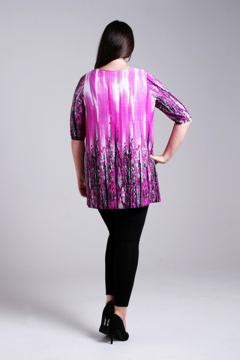 Purple Delight Tunic - at I Love Tunics @ www.ilovetunics.com = Number One! Tunics Destination