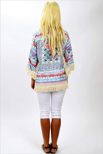 Maryanne Pastel Jacket - at I Love Tunics @ www.ilovetunics.com = Number One! Tunics Destination
